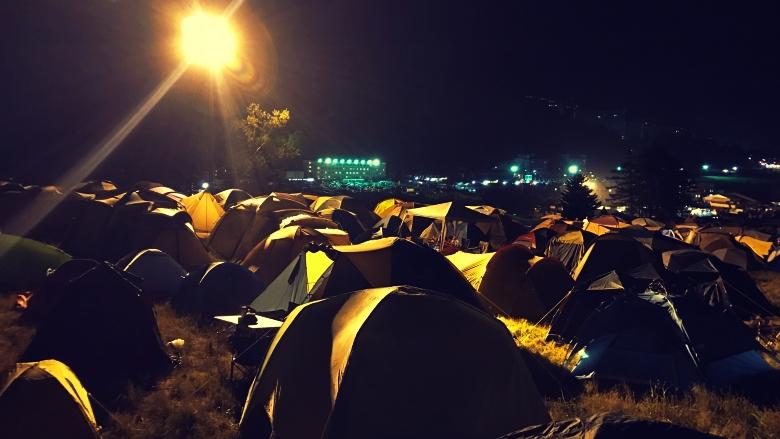 キャンプサイト 宿泊