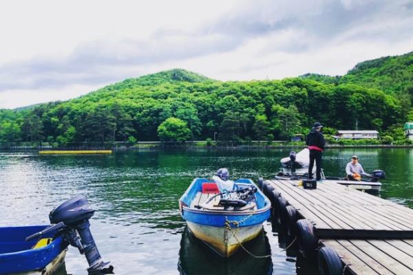 長野県木崎湖