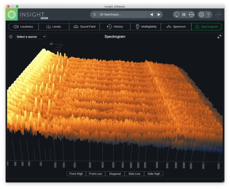 Insight2 Spectrogram