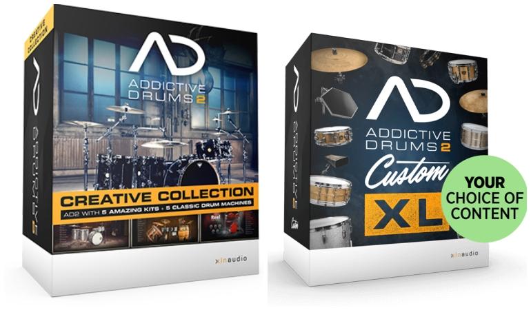 Addictive Drums 2のバンドル