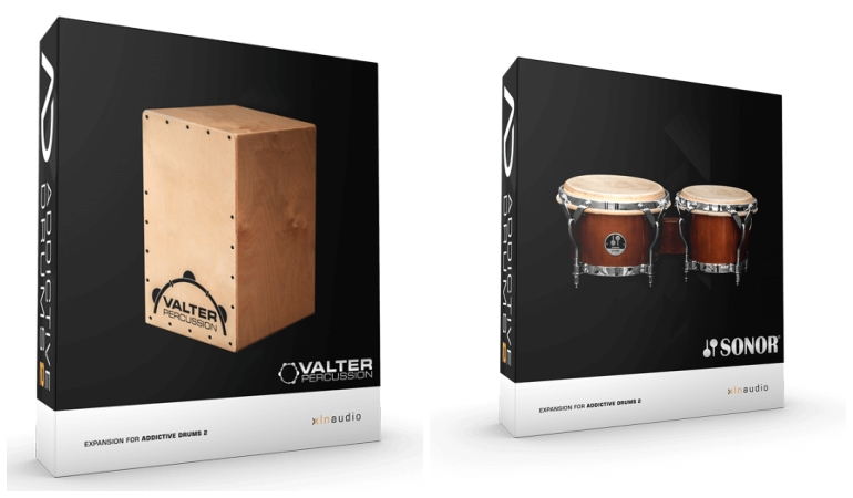 Addictive Drums 2のKitpiece Pak