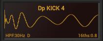 BigKickのディスプレイ