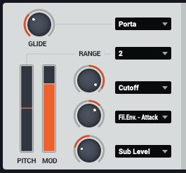 Bass Masterのモジュレーション