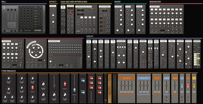 Softube Modularの基本モジュール2