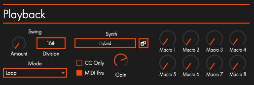 Midi Madness 3のPlayback