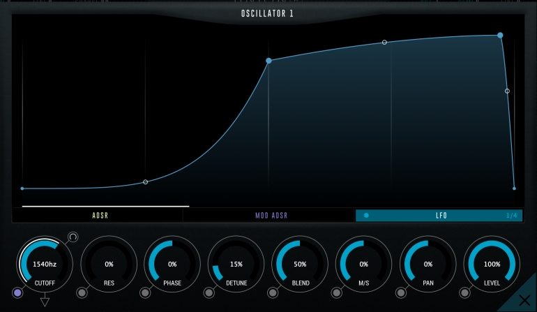 SoundSpot Unionのモジュレーション