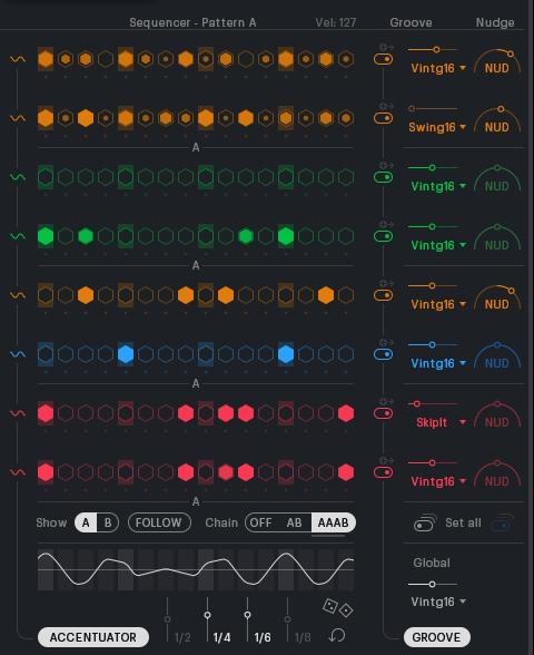 XLN_Audio_XOのシーケンサー