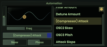 Addiction_SynthのAutomation