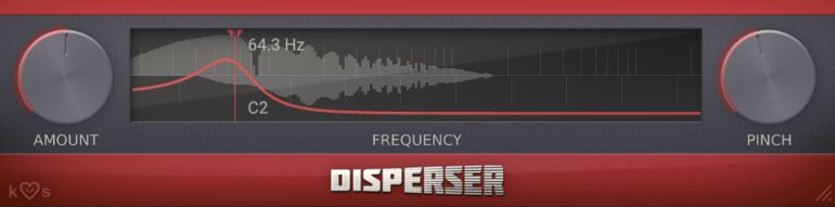 Disperserプラグイン使い方