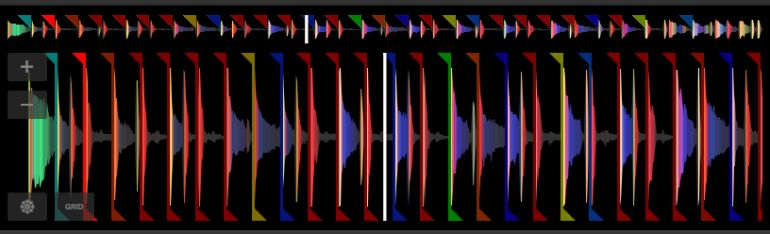 SeratoSample波形表示