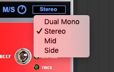 ManicCompressorのMSとStereo