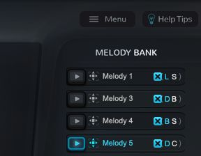 MelodySauceのMelodyBank