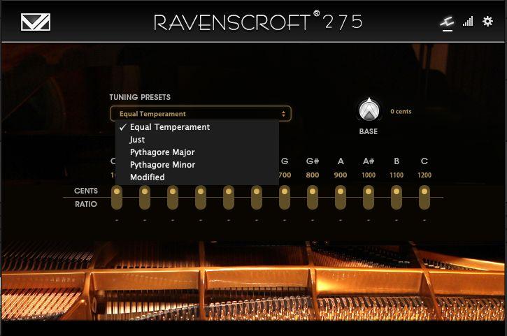 Ravenscroft275のチューニング