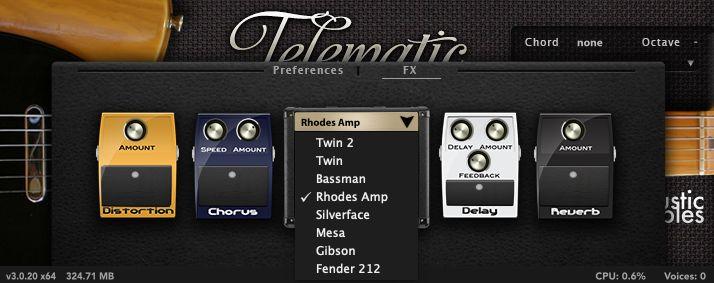 Acousticsamples_TelematicのFX