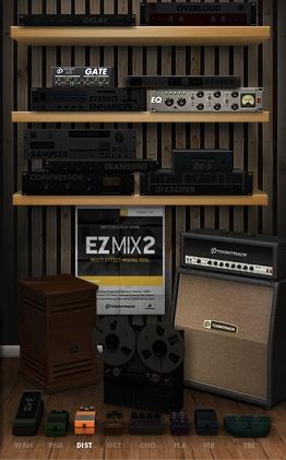 EZmix2のエフェクトビュー