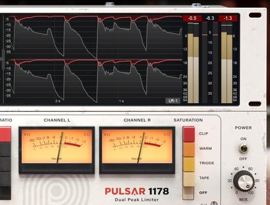 Pulsar1178のメーター