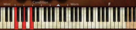 Pianoteqのコード表示