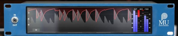 PulsarAudioMuのModernメーター