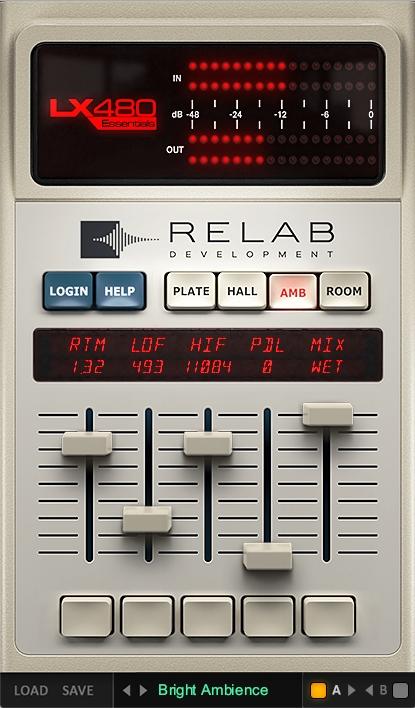 RelabLX480Essentialsの使い方