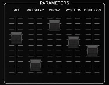 Sp2016ReverbのParameters