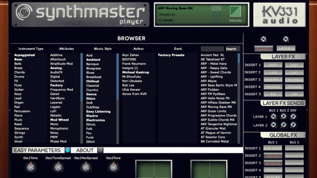 Synthmaster Playerの音質
