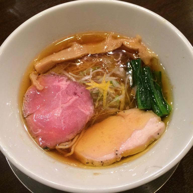 麒麟児の中華そば(醤油)