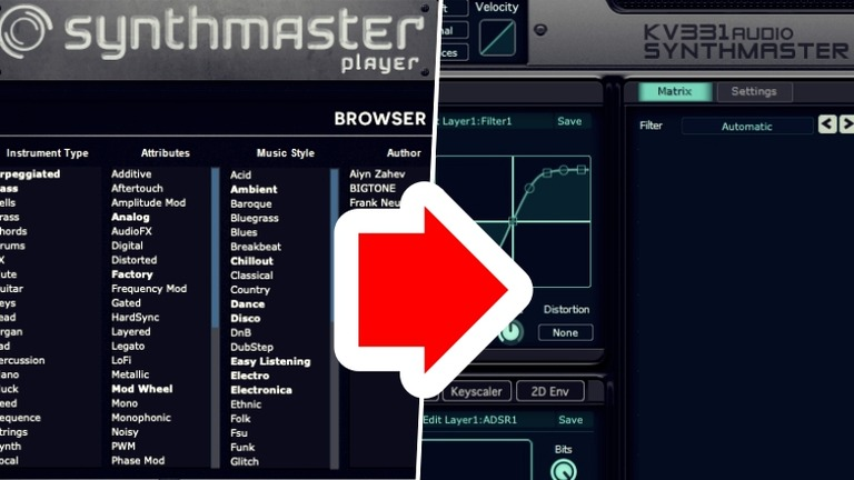 Synthmaster Playerをアップグレード