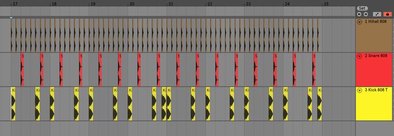 ドラムパターン